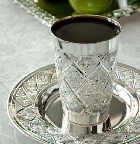 מדהים קופון כוס קידוש מכסף טהור מיוחד לחגי תשרי! XQ-76